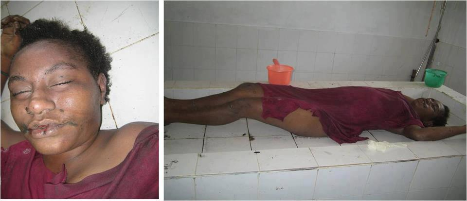 Jeny Badi, an 18 year old Papuan student who was gang raped by the Indonesian military and then shot dead. July 2012