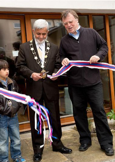 The Lord Mayor of Oxford opens the new headquarters of the Free West Papua Campaign