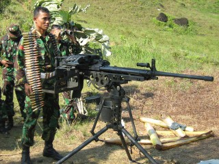 Indonesian troops take aim at highland village
