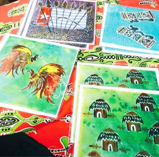 Free West Papua greeting cards1