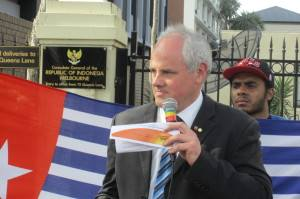 Senator John Madigan speaks out in support of West Papua.