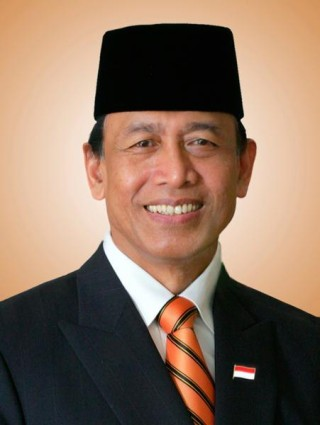 General Wiranto is now running for the Indonesian Presidency in 2014