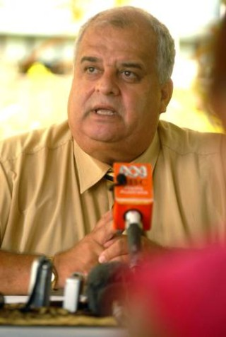 UFDF Spokesman Mick Beddoes