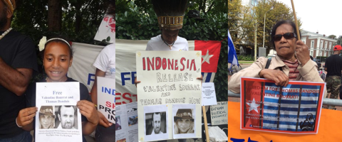 Free West Papua Campaign calls for the release of Thomas Dandois and Valentine Bourrat, French journalists Indonesia has jailed simply for reporting in illegally occupied West Papua