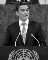 Vanuatu Prime Minister, Moana Carcasses Kalosil speaks for West Papua at UN