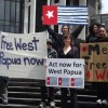 Photos from global day of action for West Papua photo 2
