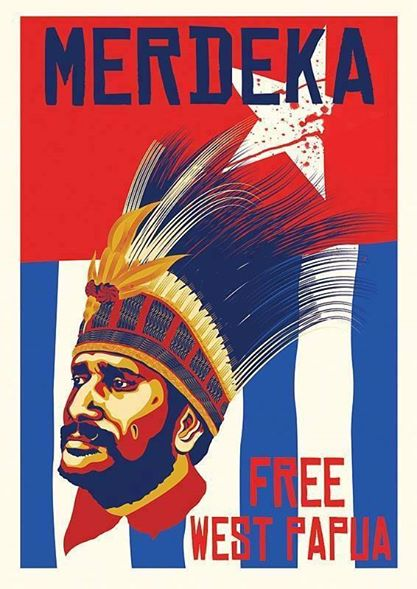 The winners will each receive this Free West Papua poster, hand signed by Nobel Peace Prize Nominee, Benny Wenda