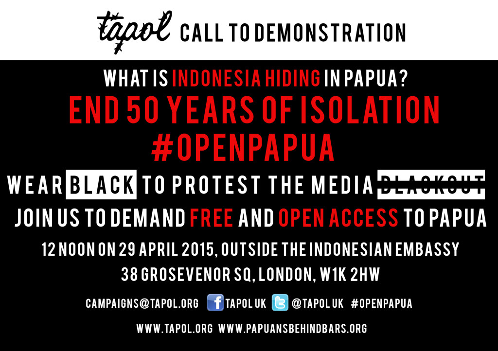 Open Papua Flyer