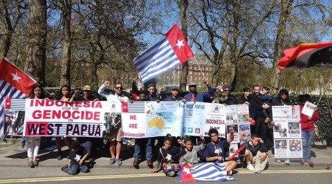 The protest held today in London generated a lot of public awareness on the streets and online about West Papua