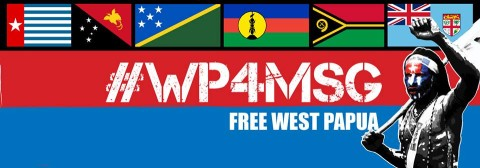 West Papua for MSG membership Banner