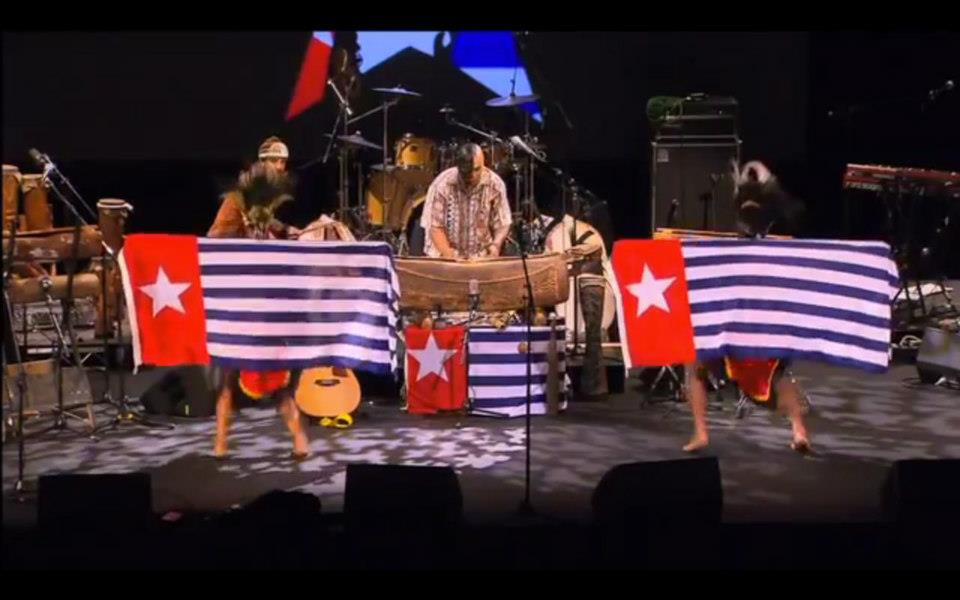 Free West Papua concert at the Sydney Opera House, Australia, 2013