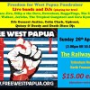 Hold a Free West Papua benefit gig or other music event photo 18
