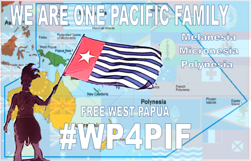 West Papua for PIF banner
