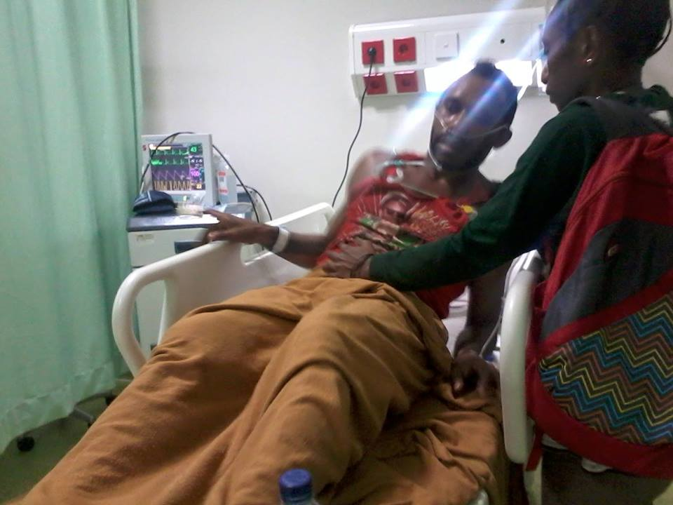 Niko Suhun (21) , a West Papuan student beaten up and teargassed by the Indonesian police in Jakarta.