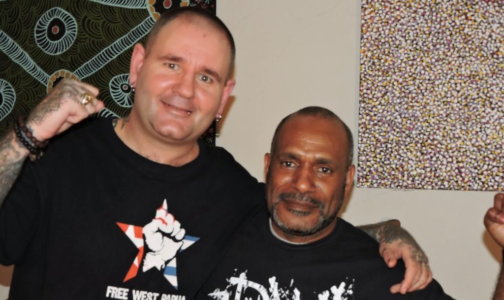Benny Wenda punks for west papua