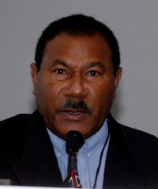 Former Solomon Islands diplomat Rex Horoi