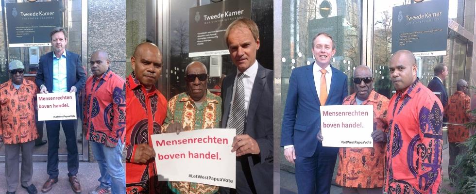 dutch mps support west papua let west papua vote
