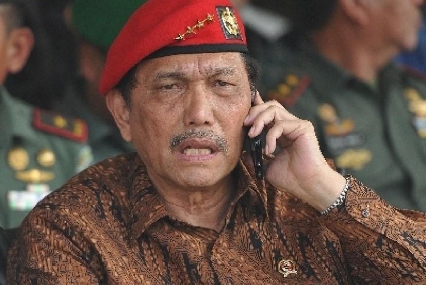 Indonesia's Coordinating Minister for Politics, Law, and Security, Luhut Binsar Pandjaitan