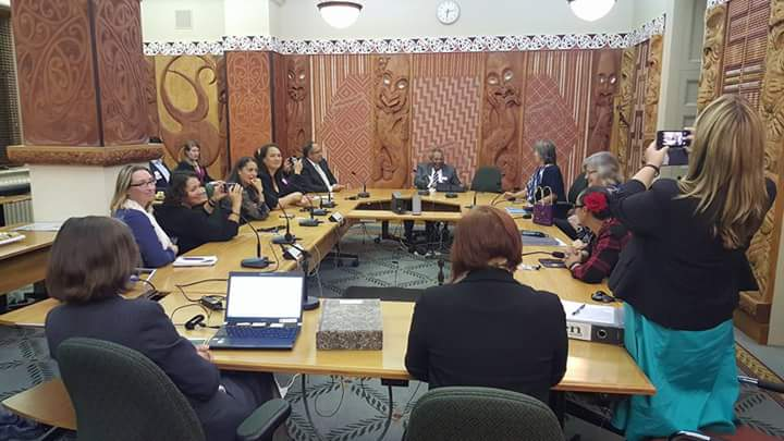 West Papuan Church Leader Sofyan Yoman meets with NZ MPs0