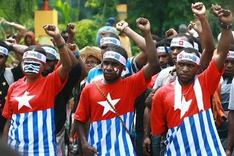 We West Papuans will continue to stand side by side and struggle peacefully for our fundamental right to self-determination and freedom.