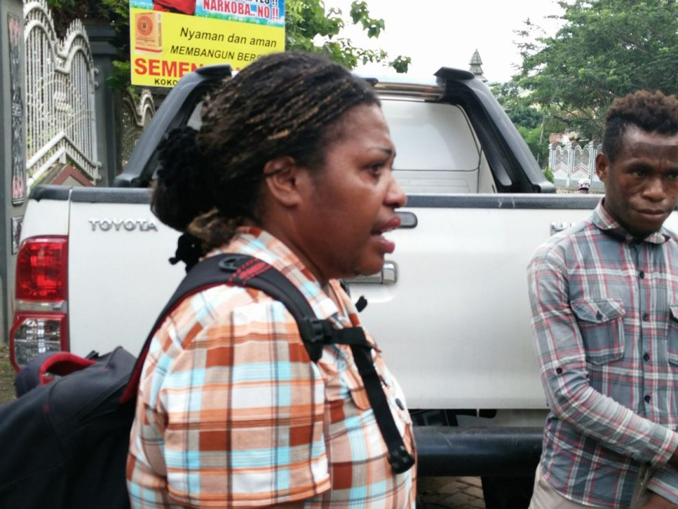West Papuan mother Hendrika Kowenik was reportedly beaten up by Indonesian militia