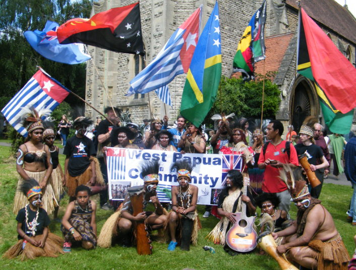 West Papua community cowley road carnival 2016