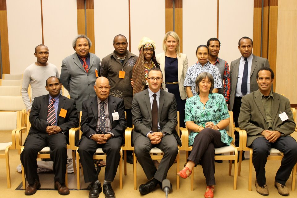 The launch of the Australian and Pacific branch of the International Parliamentarians for West Papua (IPWP)