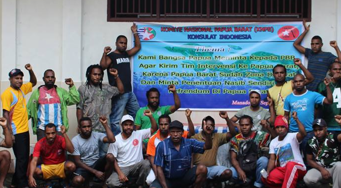 West Papuan people in Manado