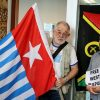 Photos from the Global Flag Raising for West Papua. 1st December 2016 photo 11
