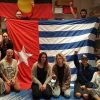 Photos from the Global Flag Raising for West Papua. 1st December 2016 photo 48