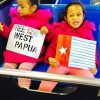Photos from the Global Flag Raising for West Papua. 1st December 2016 photo 189