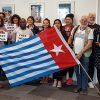 Photos from the Global Flag Raising for West Papua. 1st December 2016 photo 108