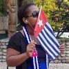 Photos from the Global Flag Raising for West Papua. 1st December 2016 photo 126