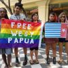 Photos from the Global Flag Raising for West Papua. 1st December 2016 photo 158