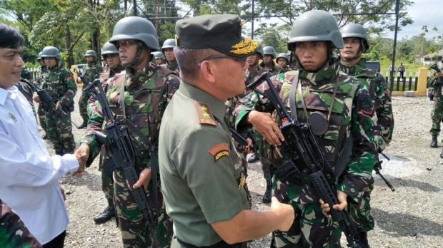 ALERT Indonesian military  and police set to raid West