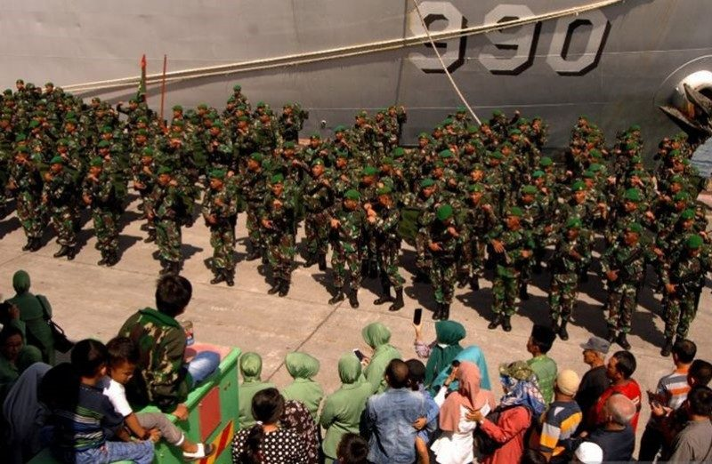 Indonesia sends 600 Indonesian soldiers to secure